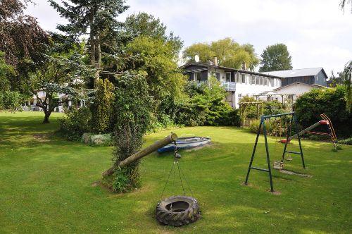 Unser parkähnlicher Garten