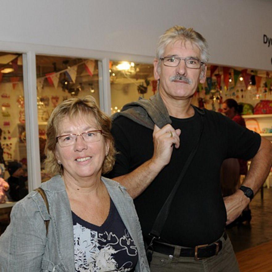 Dieneke und Adrie Huibregtse.