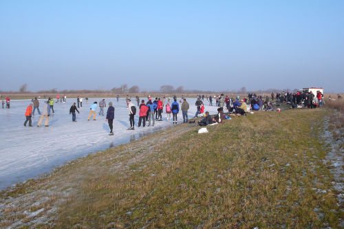 Westkapelle im Winter