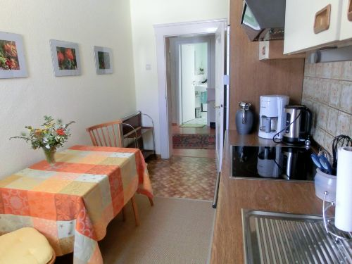 Küche mit 2 Sitzplätzen