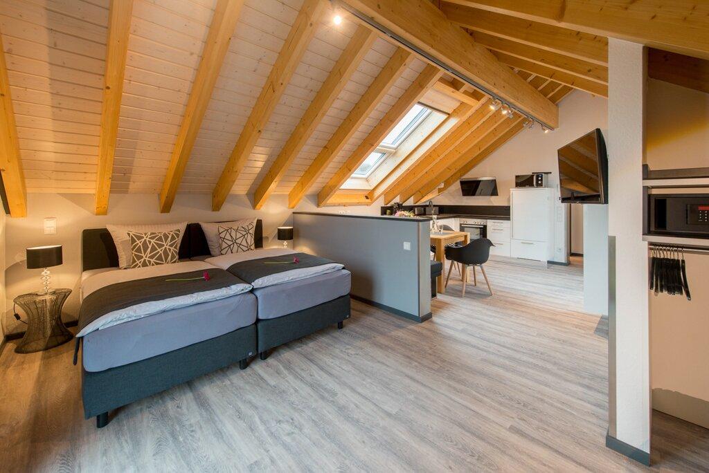 Moderner Raum mit 4 Meter hohen W�nden