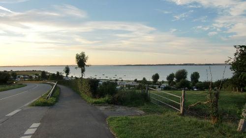 Flensburger F�rde - Blick nach D�nemark