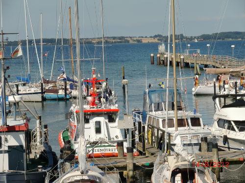 Hafen Langballigau ca. 1,5 km von FeWo