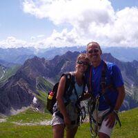 Vermieter: Gr�� Gott vom Hindelanger Klettersteig !