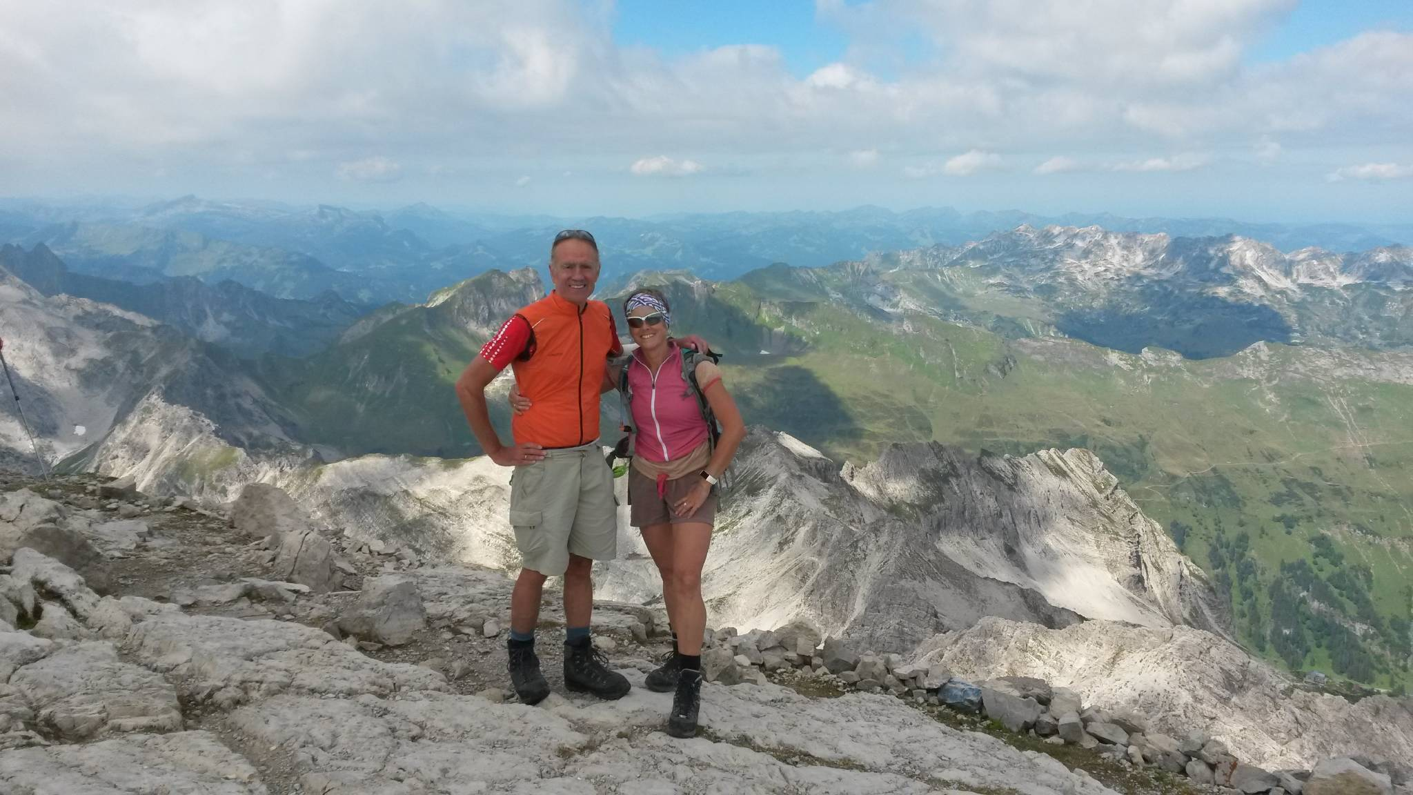 Aussichten vom Hindelanger Klettersteig