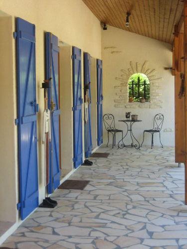 Eingang zum Chambre bzw. Bad
