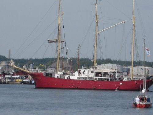 Flbg. Nautics ( Segelschiff Sunthorice )