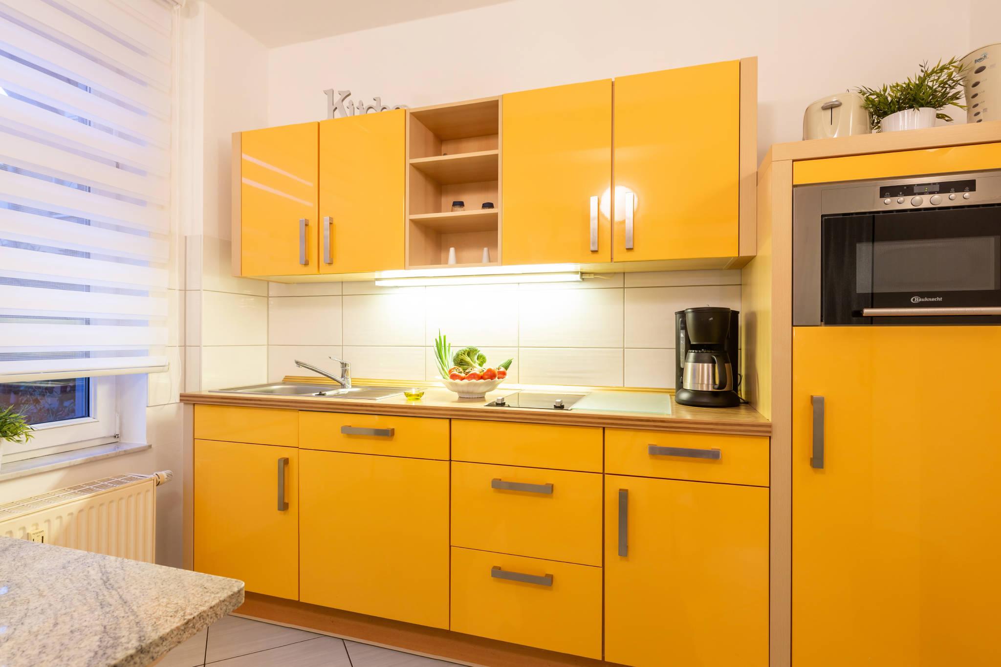 Flur - Blick zur Küche
