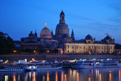 Fürstenzug und Kathedrale