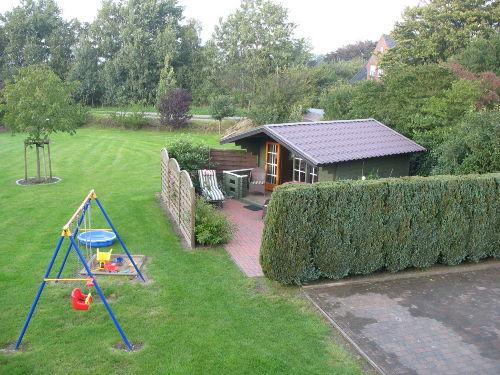 Garten und Grillhütte
