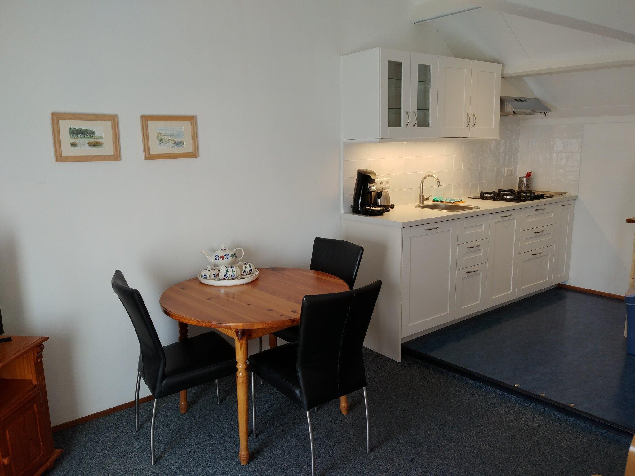 Wohnung fuer 2 Personen mit Küche