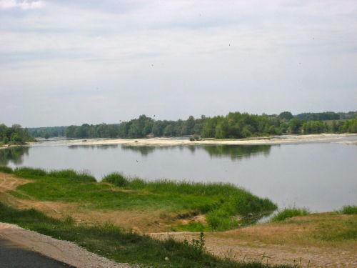 Die Loire vor dem Haus