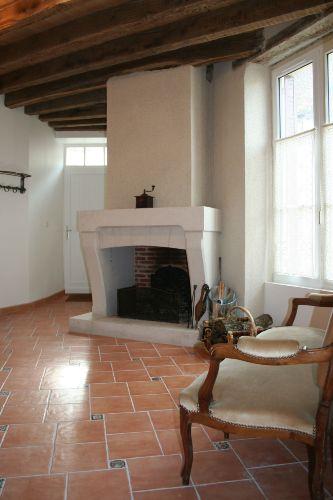 gem�tliches Wohnzimmer mit Kamin