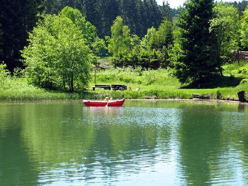 kleiner Waldsee bei Oberhof