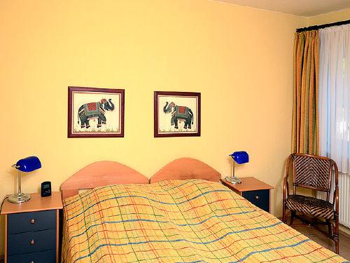 Ferienwohnung 1.2 (Schlafzimmer)