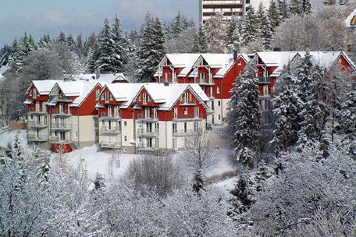 Haus Tannenblick im Winter