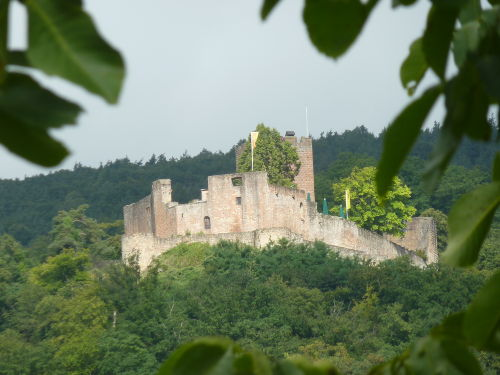 Burg Landeck bei Klingenm�nster