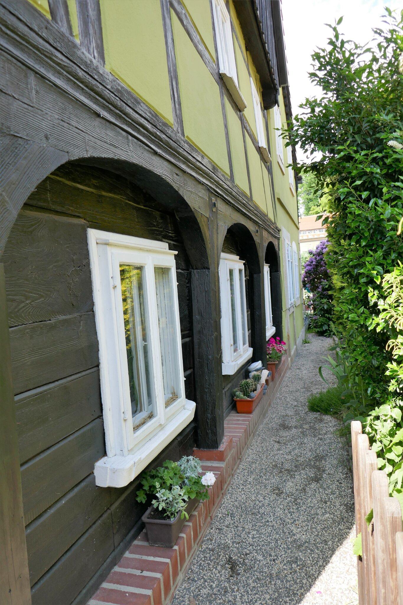 Eingang hinter'm Haus