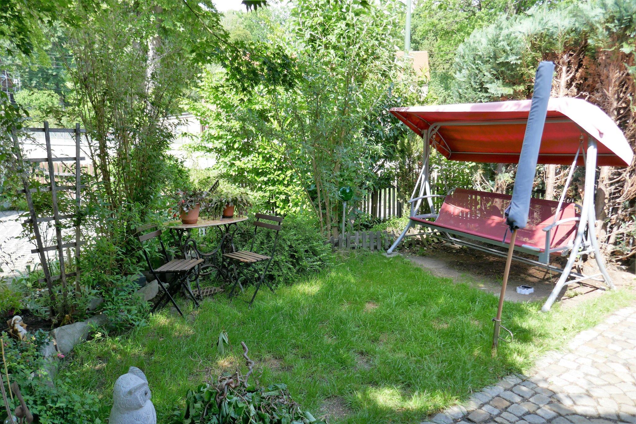 Ein Teil des Gartens