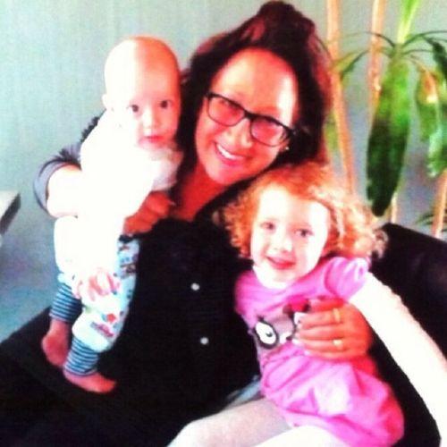 Das sind zwei meiner Enkelkinder :-)