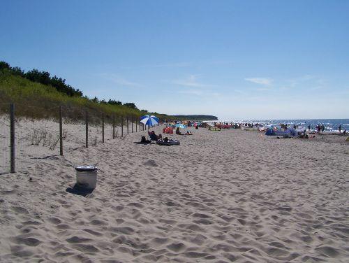 Strandblick Richtung West