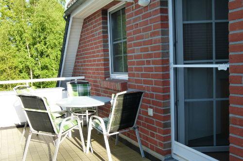 Dachterrasse mit Gartenm�beln