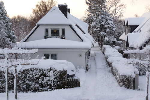 Unser Haus im Winter 2010/2011