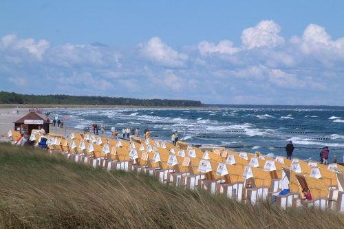 Zingster Strand im Mai