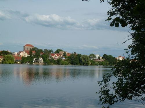 Ansicht Strausbergs von der Seeseite