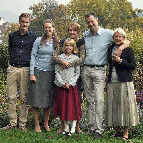 Die Familie Andreas und Martina Griesbaum stellt sich vor