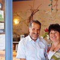 Vermieter: Ihre Gastgeber Petra und Janis Zantiotis