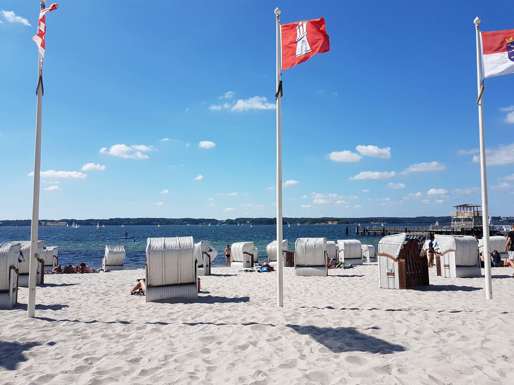 Strand in Gl�cksburg-Sandwig