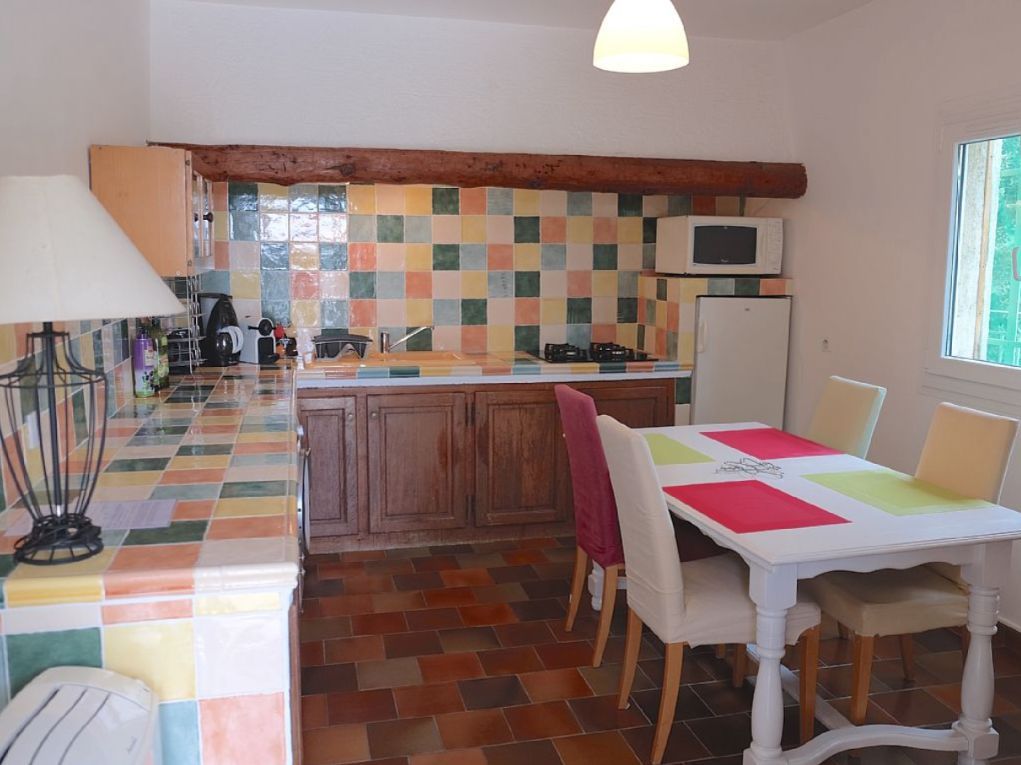 """Gem�tlich separate """"Provence-Wohnk�che"""""""