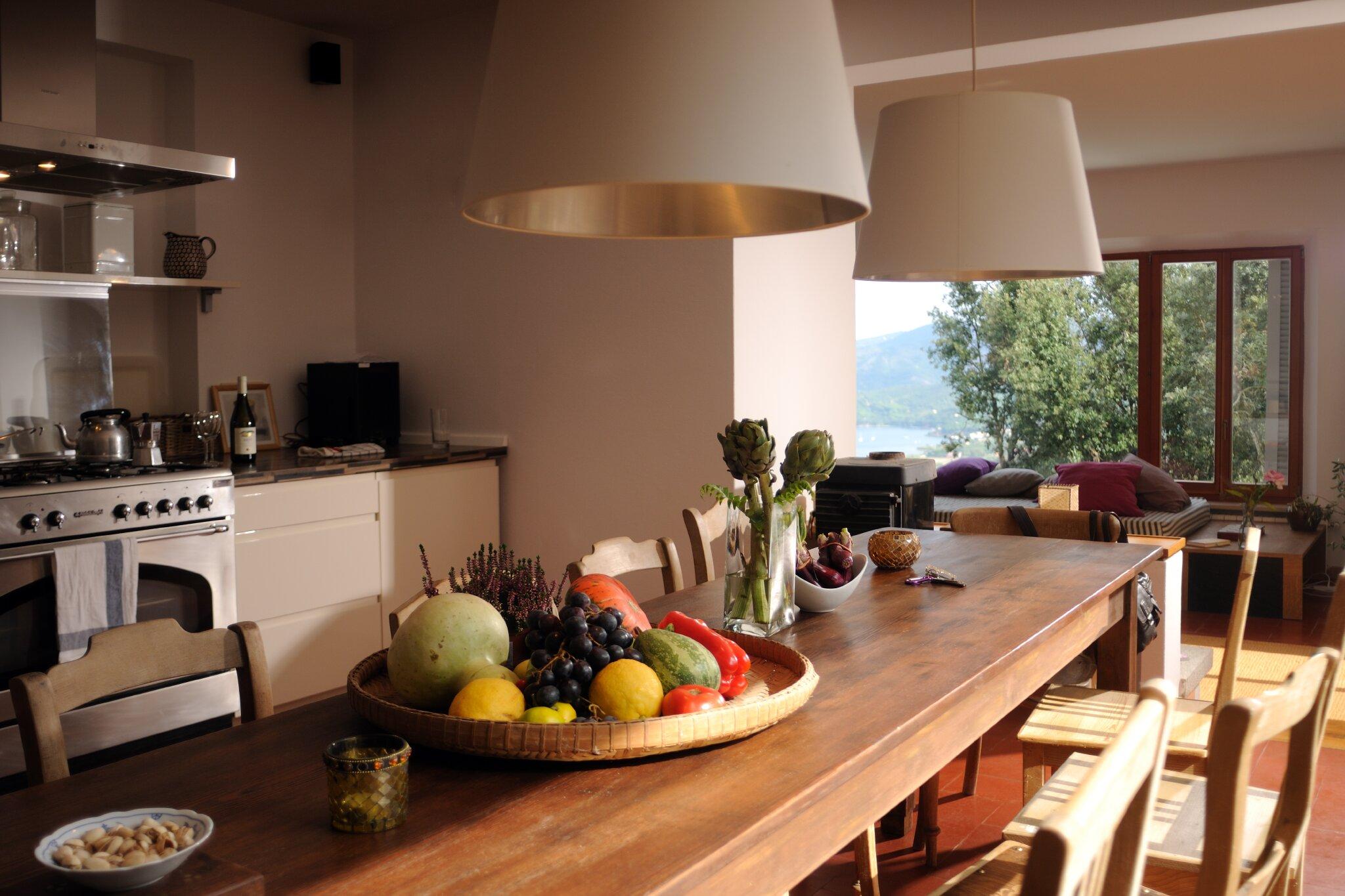 Küche mit Essbereich EG