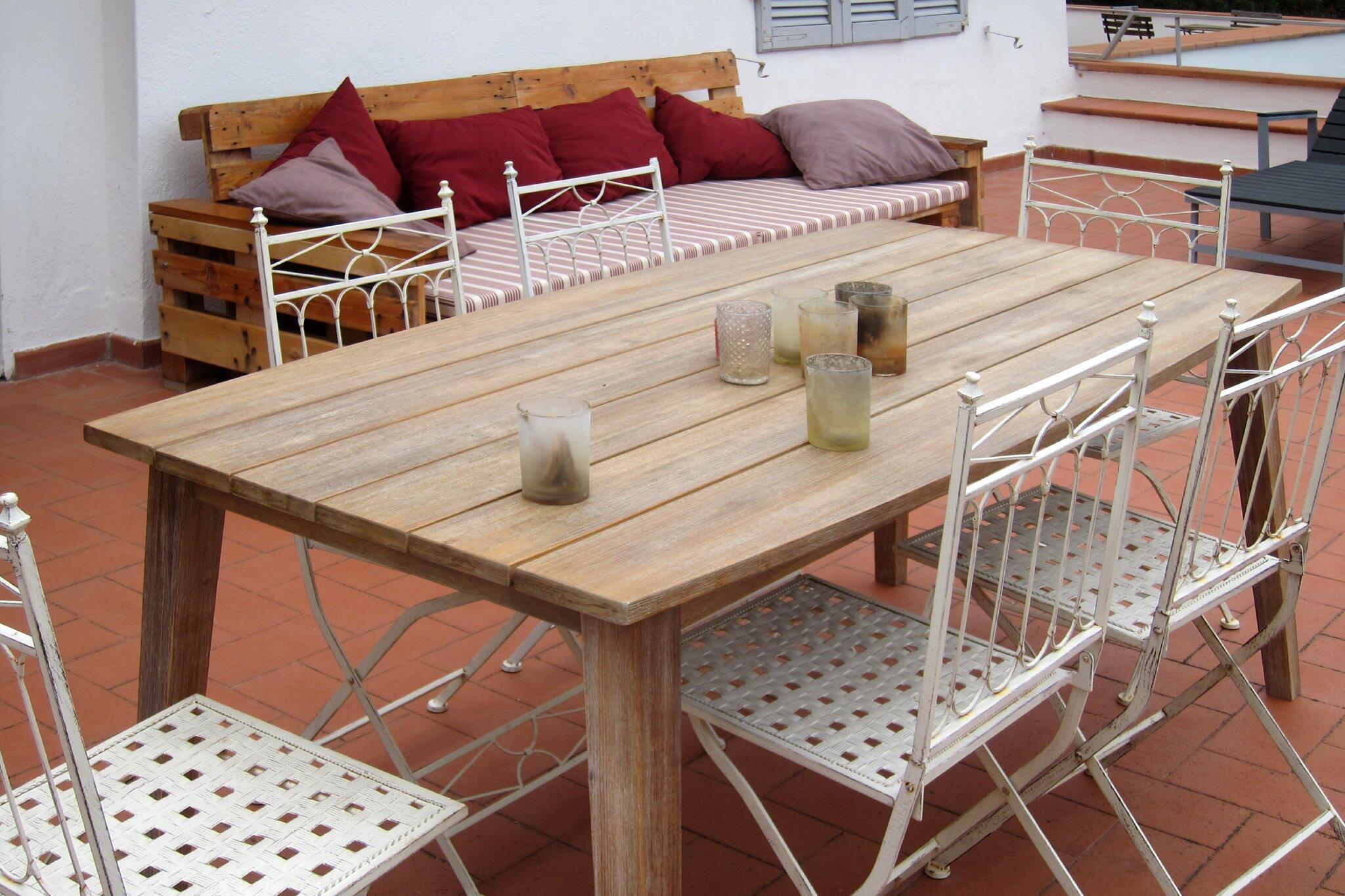 Dachterrassenwohnung: Wohnraum