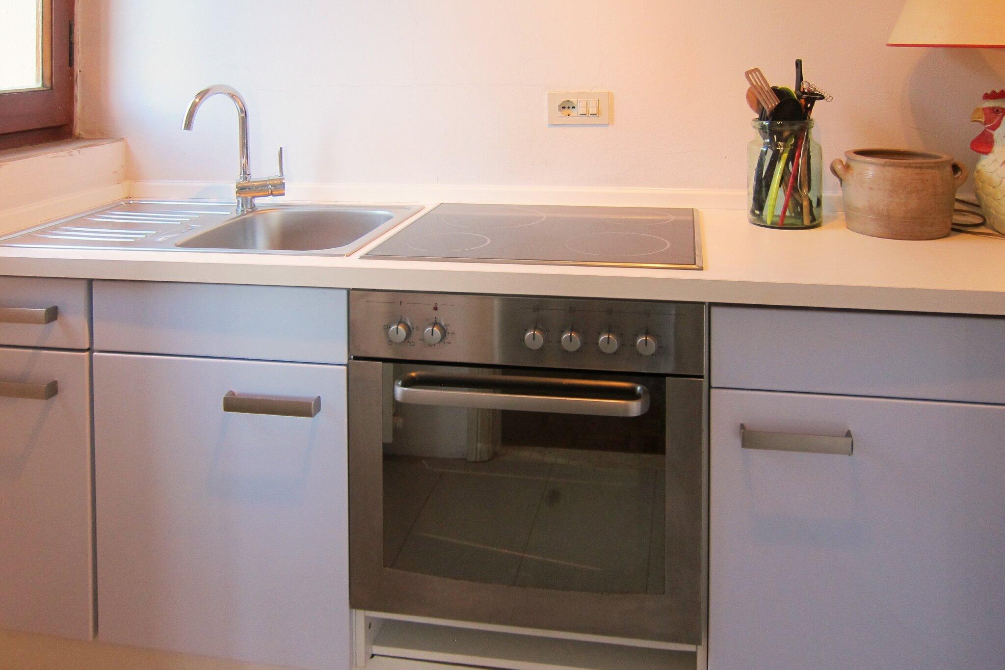 Dachgeschoss: Wohnraum und Terrasse