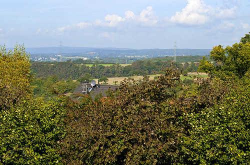 Ausblick vom Balkon West in die Eifel