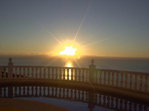 Terrasse am Morgen