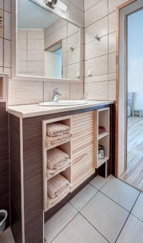 Waschtisch-Badezimmer