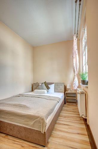 Kleine Schlafzimmer - Bett 140 cm breit