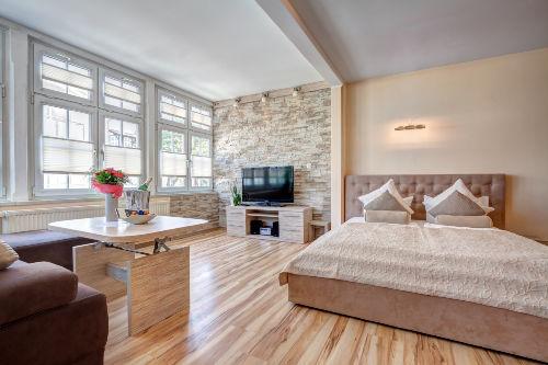 Schlafzimmer in Wohnbereich
