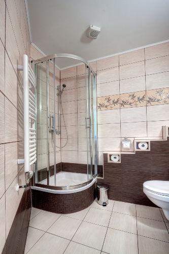 Dusche-Badezimmer