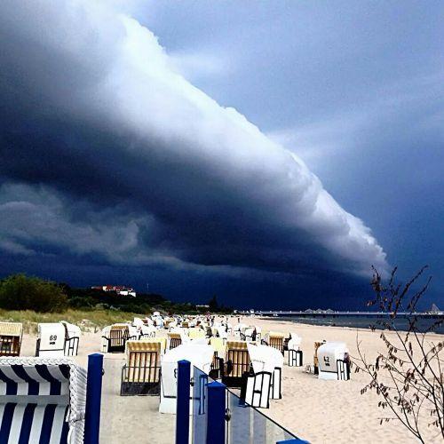 Sturm in April
