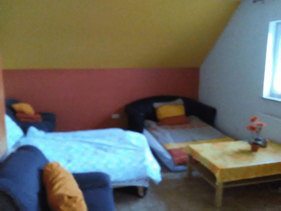 Das kleine Schlafzimmer optional 1 x 2 m