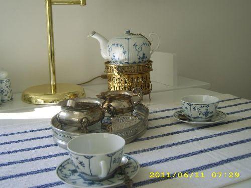 een Koppke Tee f�r den Gast