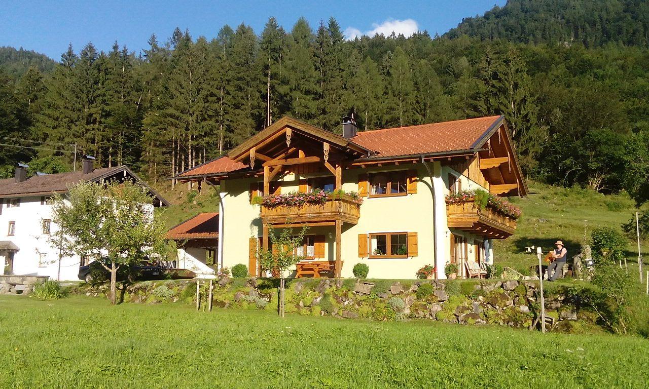 Bergerhof mit Neubau