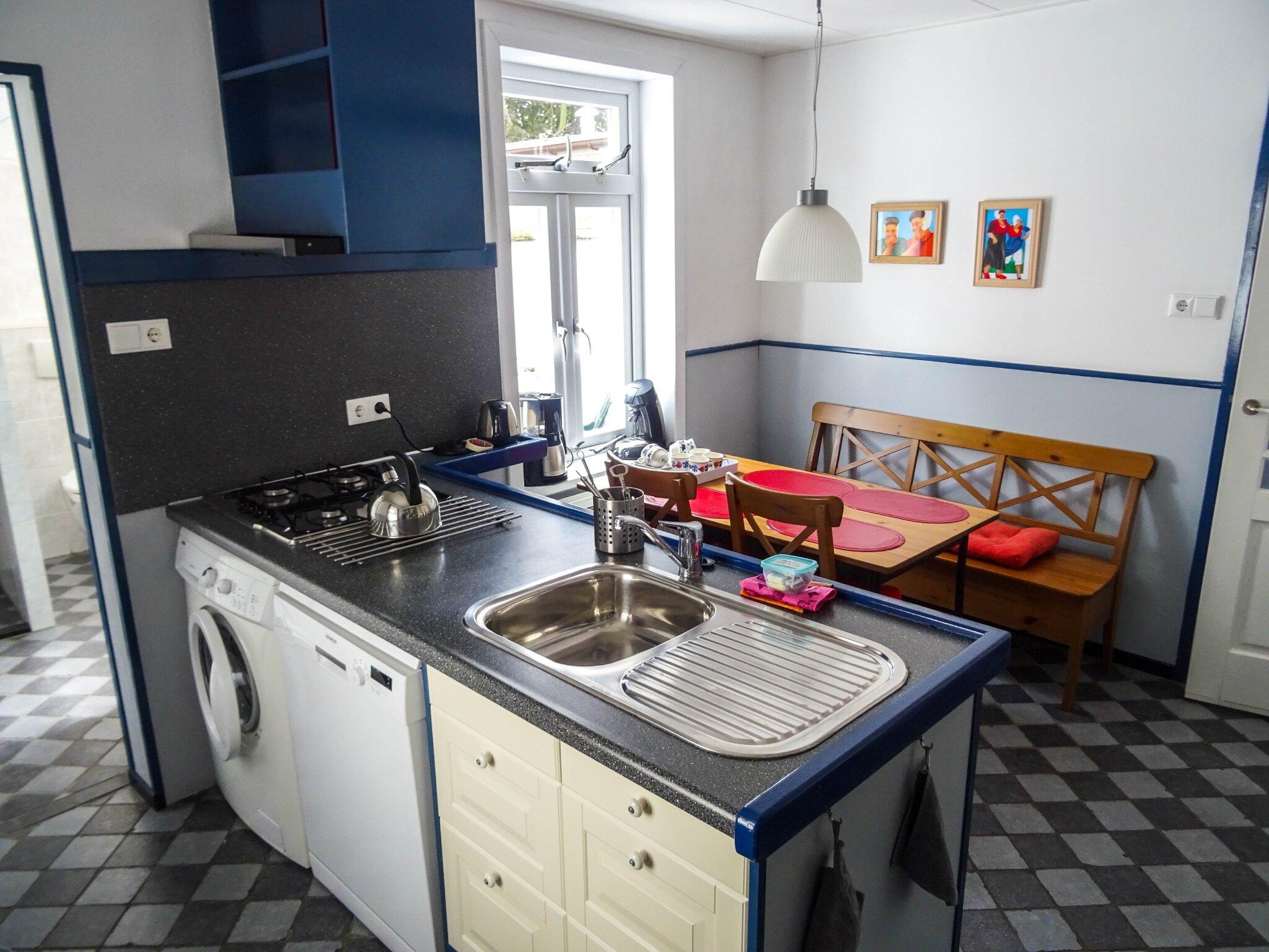 Küche ... aller Komfort ist vorhanden