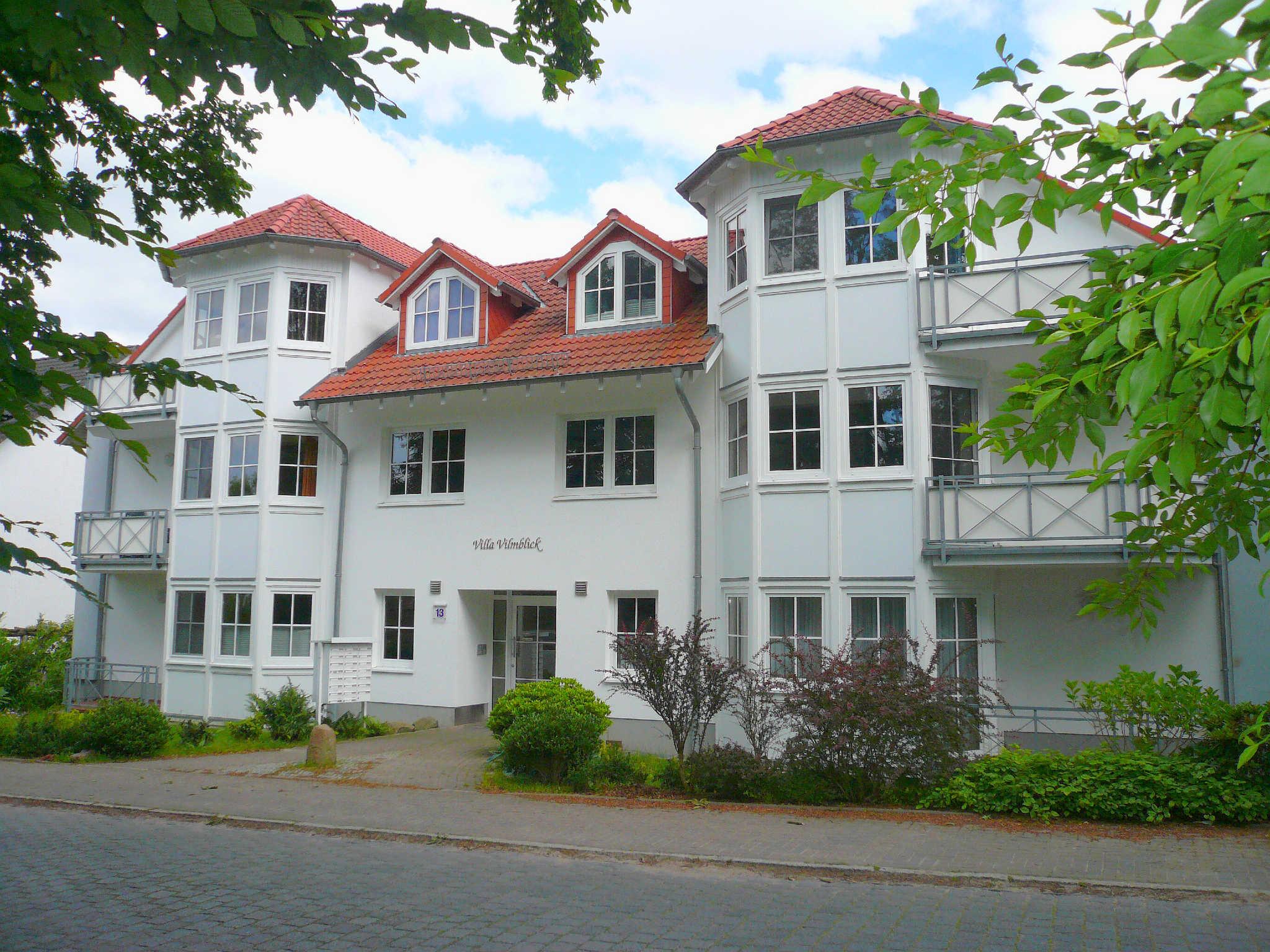 Villa Vilmblick vom Garten aus gesehen