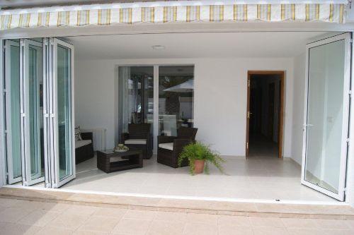 Terrasse-Eingang