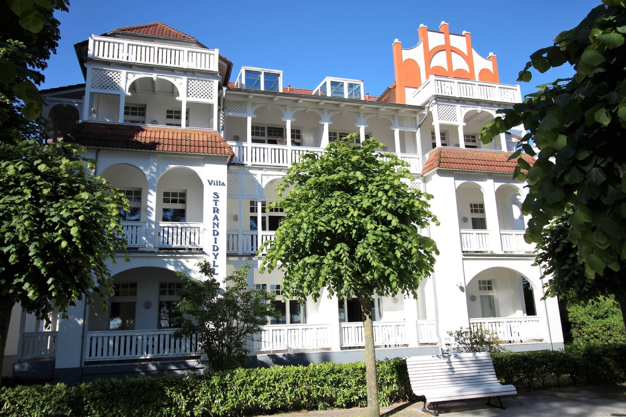 Villa Strandidyll Außenansicht